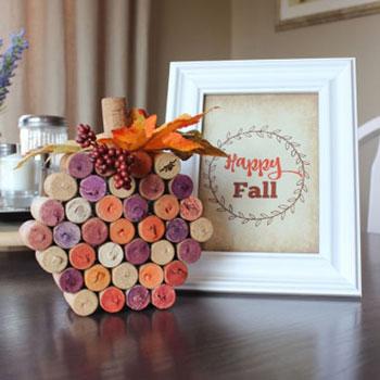 Parafadugó tök - őszi dekoráció egyszerűen