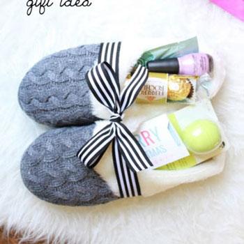 Kényeztető pihenés ajándékba - téli papucsokba csomagolva