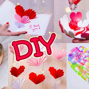 5 Easy DIY Valentine's day gifts and room decor ideas