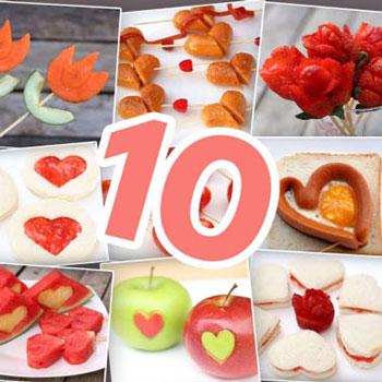 10 egyszerű és gyors romantikus étel ötlet ( Valentin napra )