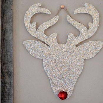 Rudolf a rénszarvas csillámos formában