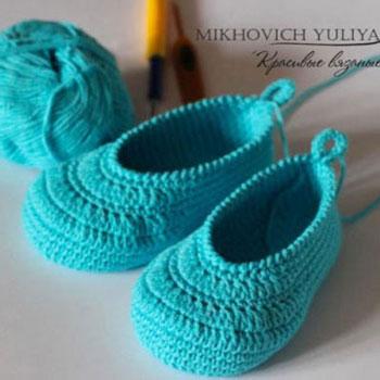 Horgolt baba cipőcskék (képes horgolásmintával)