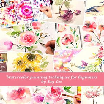 Tavaszi virágok vízfestéssel egyszerűen - Jay Lee festőművésszel
