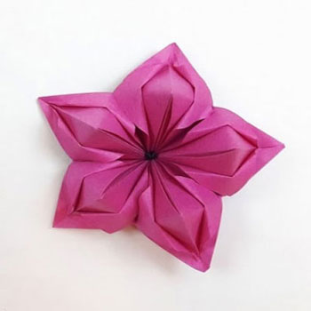 Csodaszép tavaszi origami virágok egyszerűen (papírhajtogatás)