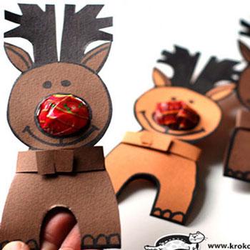 Nyalóka orrú Rudolf - rénszarvasos ajándék