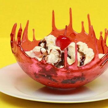 Ehető cukortálak házilag egyszerűen - party étel (desszert tál)