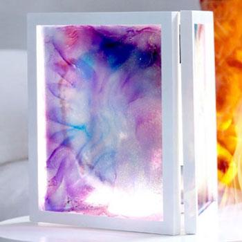 Gyönyörű különleges festmények alkoholos tinta égetéssel