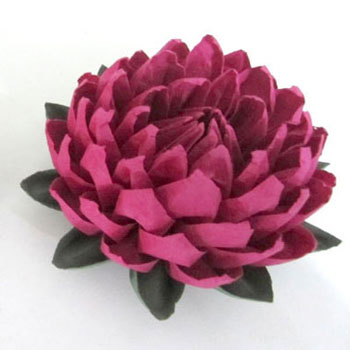 DIY easy to make origami lotus flower (paper folding)