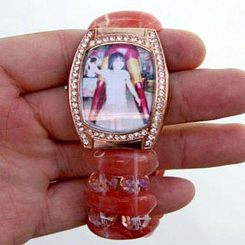 Személyes ajándék családi fotóval  régi rossz órából