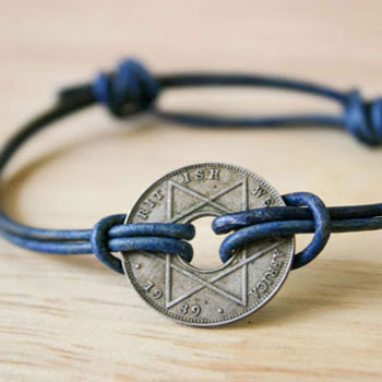 DIY Simple sliding knot bracelet