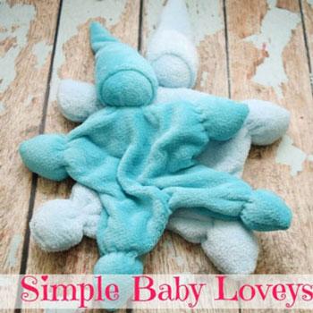 Egyszerű bébiplüss manó baba rongyi (kendők) - varrás kezdőknek