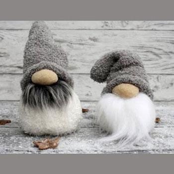 Karácsonyi manók zokniból egyszerűen - téli dekoráció