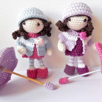 Autumn Amigurumi Dolls Free Crochet Pattern Mindy