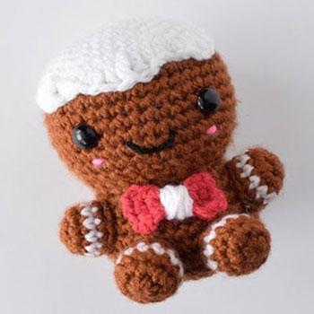 Amigurumi mézi - horgolt mézeskalács figura (ingyenes minta)