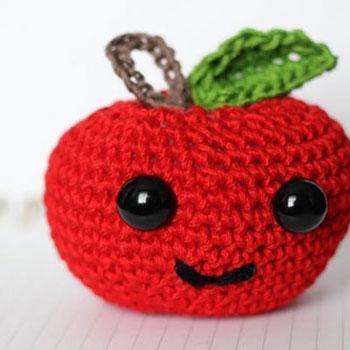 Horgolt (amigurumi) alma - ingyenes horgolásminta