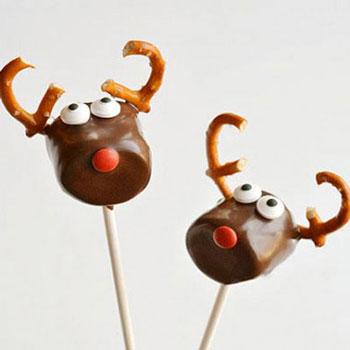 (Rudolf) Rénszarvasok pillecukorból és perecből