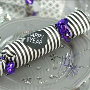 Robbanócukor wc papír gurigából - kreatív szilveszteri ajándék