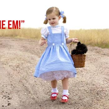 Dorothy jelmez (Óz a csodák csodája) - szabásmintával