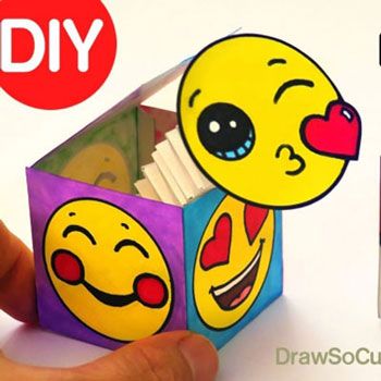 DIY Pop Out Surprise Box Toy