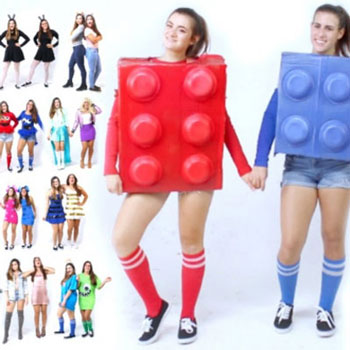30 Easy DIY best friend Halloween costrume