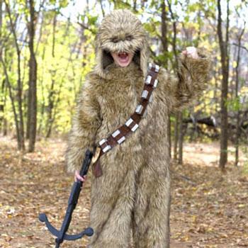 Chewbacca jelmez házilag műszőrméből ( Star Wars jelmez )