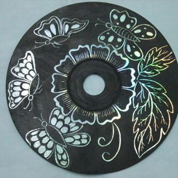 Csodás karcképek CD lemezekből egyszerűen - kreatív újrahasznosítás
