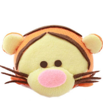 DIY Tigger tsum-tsum sock plush - sock toy making (video tutorial)