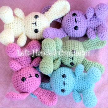 Easy Quick Amigurumi Bunny Free Crochet Pattern Mindy