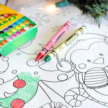 Karácsonyi színezőlapok gyerekeknek