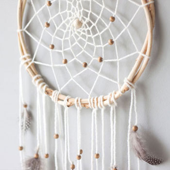 DIY Dreamcatcher  - boho room decor