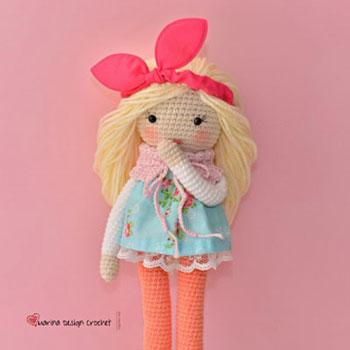 Matilda az amigurumi baba (ingyenes angol horgolásminta)