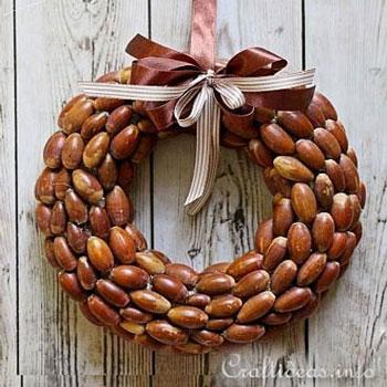 Makk koszorú - kreatív őszi dekoráció egyszerűen