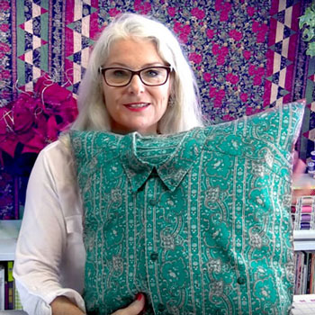 Emlékpárna készítése ingből - párna varrás ( videó útmutató )