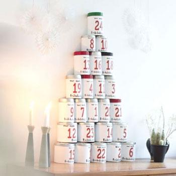 Adventi kávé kalendárium egyszerűen (adventi kalendárium felnőtteknek)