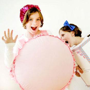 Egyszerű macaron jelmez ( sütemény jelmez ) gyerekeknek
