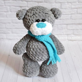 Amigurumi Tatty Teddy - puha amigurumi maci (ingyenes horgolásminta)