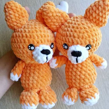 Little soft amigurumi fox (free crochet pattern & video tutorial)