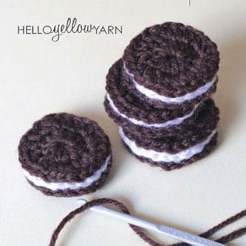 Amigurumi Oreo keksz (amigurumi keksz) - ingyenes horgolásminta