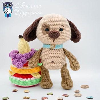 Foltos amigurumi kutya (ingyenes amigurumi minta)