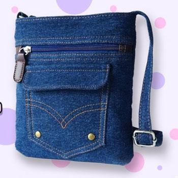 Kis táska farmernadrágból - kreatív újrahasznosítás (táska varrás lépésről-lépésre)