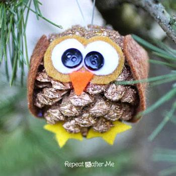 Cuki toboz bagoly - kreatív ötlet gyerekeknek őszre