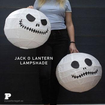Jack Skellington lampion (koponya lampion ) - Halloween dekoráció egyszerűen