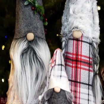 Magas karácsonyi manók egyszerűen (videó útmutató)