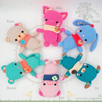 Amigurumi Pattern: The little kawaii – Tarturumies