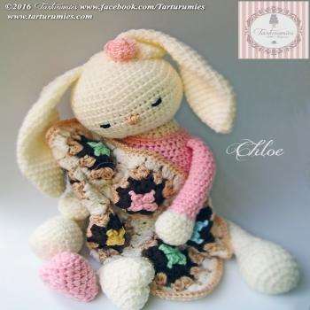 Chloe az amigurumi nyuszi (ingyenes amigurumi minta)