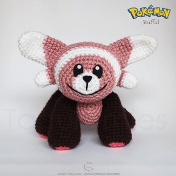 Amigurumi Pokémonok: Stufful (ingyenes amigurumi minta)