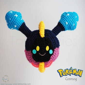 Amigurumi Pokémonok: Cosmog (ingyenes amigurumi minta)