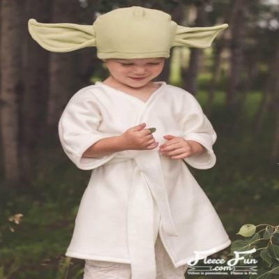 Kényelmes Yoda jelmez gyerekeknek ( varrási útmutató szabásmintával )
