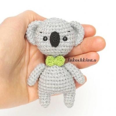 Picur amigurumi koala ( ingyenes amigurumi minta )