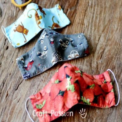 Ingyenes textil szájmaszk szabásminta + varrási útmutató (orvosi maszk betéttel)